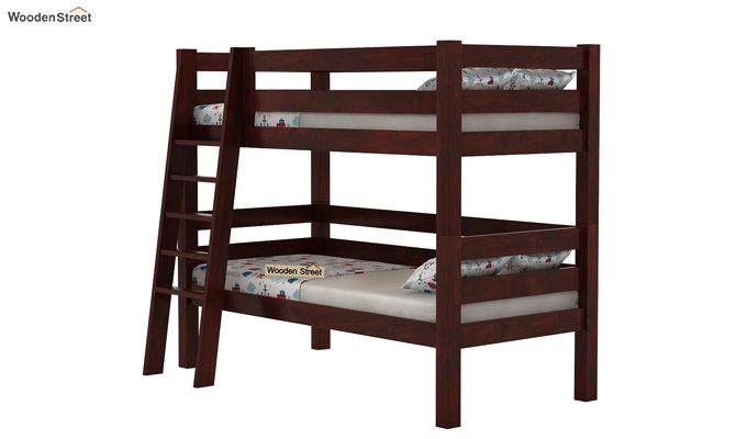 Hout Kids Bed (Mahogany Finish)-3