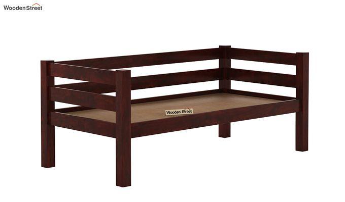 Hout Bunk Bed (Mahogany Finish)-6