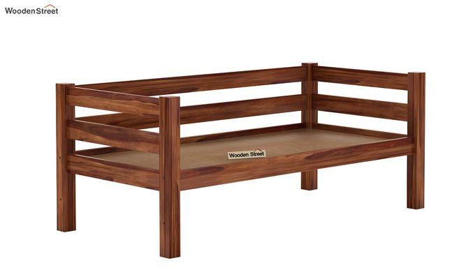 Hout Bunk Bed (Teak Finish)-6
