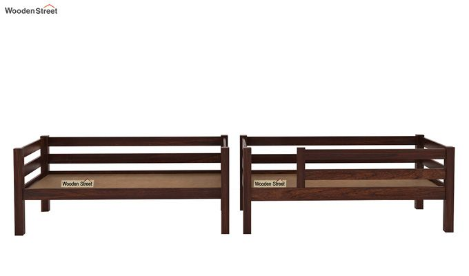 Hout Bunk Bed (Walnut Finish)-6