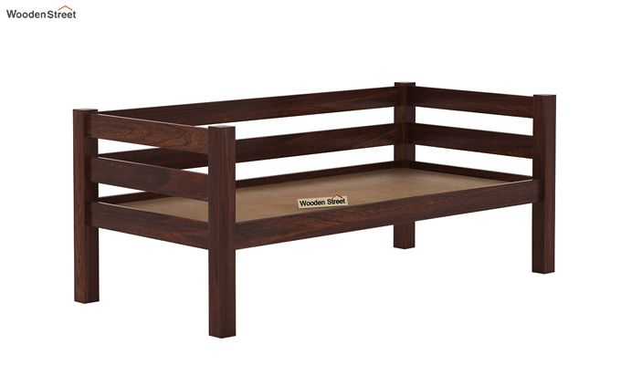 Hout Bunk Bed (Walnut Finish)-7