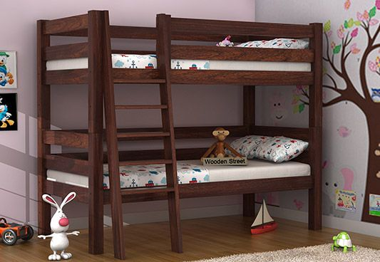 solid wood kids beds online India
