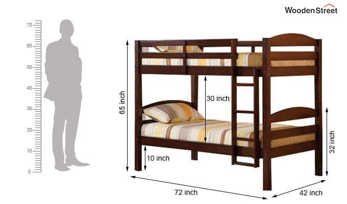 Nero Bunk Bed (Teak Finish)-3