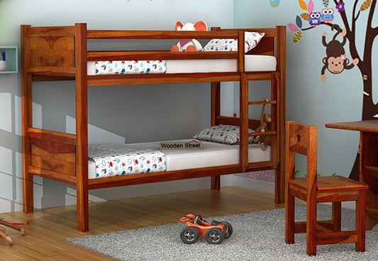 Buy wooden bunk beds
