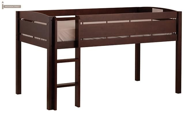 Pluto Bunk Bed (Mahogany Finish)-1