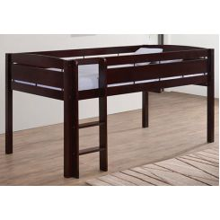 Pluto Bunk Bed (Mahogany Finish)