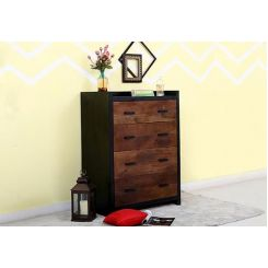 Andrew Chest Of Drawer (Teak Finish)