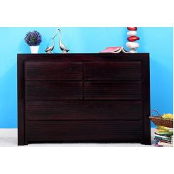Ethan Chest Of Six Drawers (Mahogany Finish)