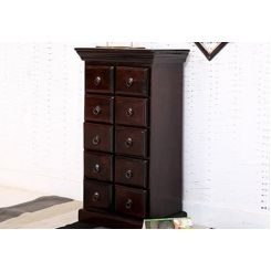 Finola Chest Of Drawers (Mahogany Finish)