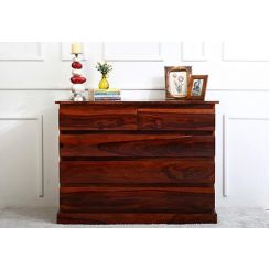Colley Chest Of Drawer (Honey Finish)