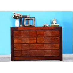Kelly Cabinet Of Drawers (Mahogany Finish)