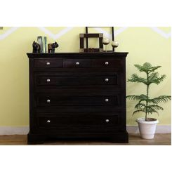 Lebrun Chest Of Drawers (Black Finish)