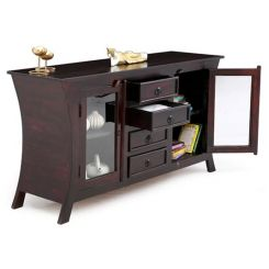 Reveka Sideboard (Mahogany Finish)
