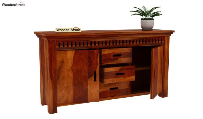 Adolph Sideboard (Honey Finish)-4