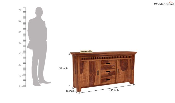 Adolph Sideboard (Teak Finish)-6