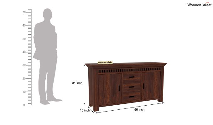 Adolph Sideboard (Walnut Finish)-6