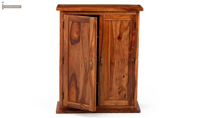 Apex Kitchen Cabinet (Teak Finish)-10
