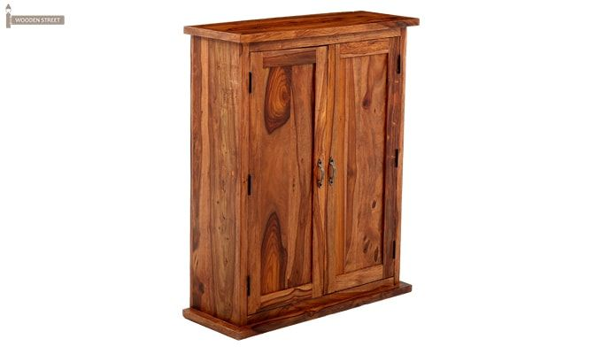Apex Kitchen Cabinet (Teak Finish)-11