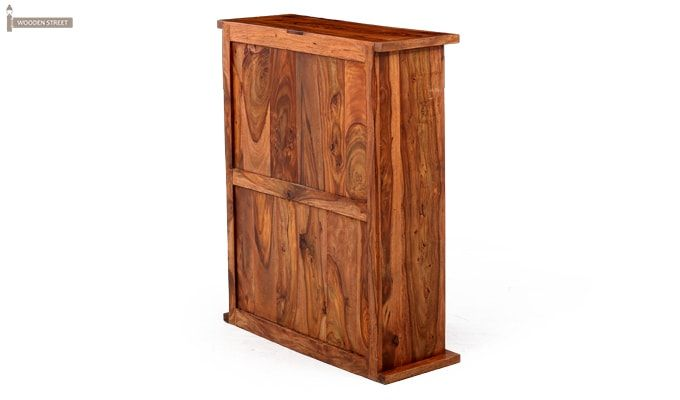Apex Kitchen Cabinet (Teak Finish)-12