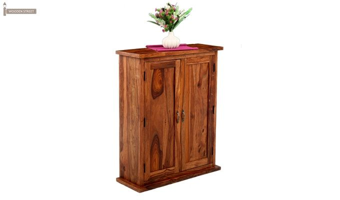 Apex Kitchen Cabinet (Teak Finish)-3