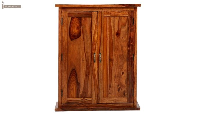 Apex Kitchen Cabinet (Teak Finish)-7