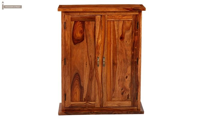 Apex Kitchen Cabinet (Teak Finish)-8