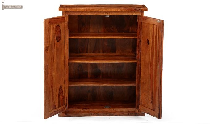 Apex Kitchen Cabinet (Teak Finish)-9