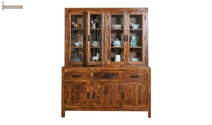 Bago Kitchen Cabinets (Teak Finish)-1