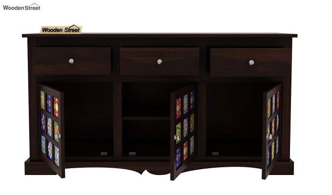 Boho Sideboard With Three Drawers