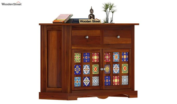 Boho Sideboard (Honey Finish)-5
