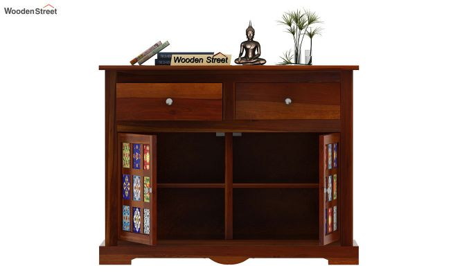 Boho Sideboard (Honey Finish)-6