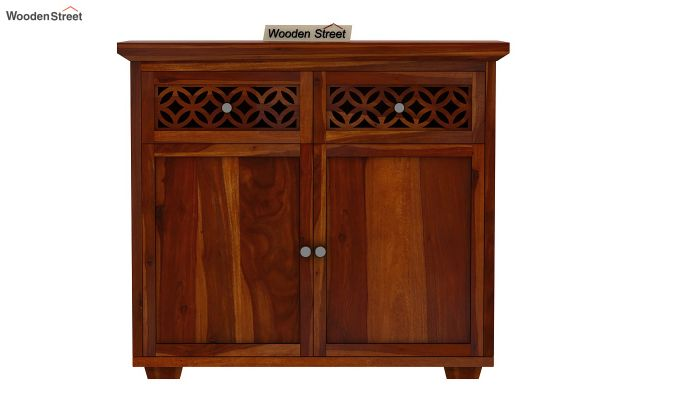 Cambrey Mini Sideboard (Honey Finish)-3