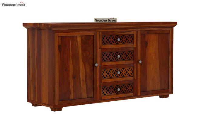 Cambrey Sideboard (Honey Finish)-2