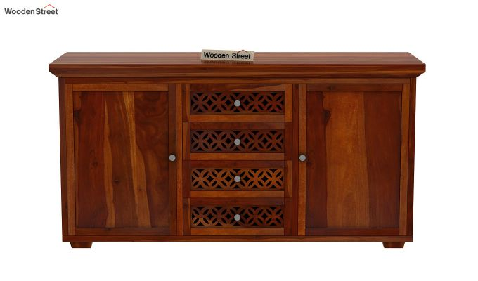 Cambrey Sideboard (Honey Finish)-3