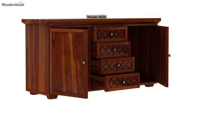 Cambrey Sideboard (Honey Finish)-4