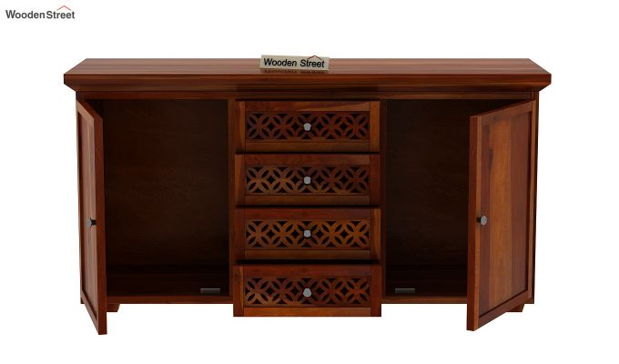 Cambrey Sideboard (Honey Finish)-5