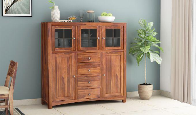 Carrock Cabinet (Honey Finish)-1