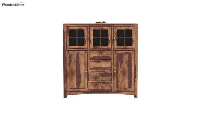 Carrock Cabinet (Teak Finish)-3