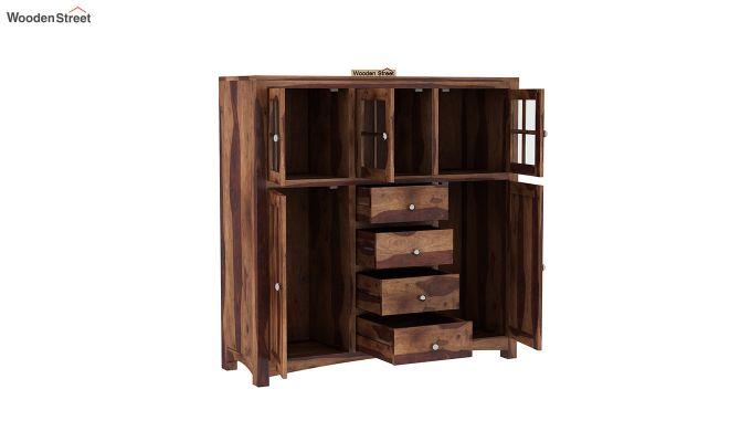 Carrock Cabinet (Teak Finish)-4