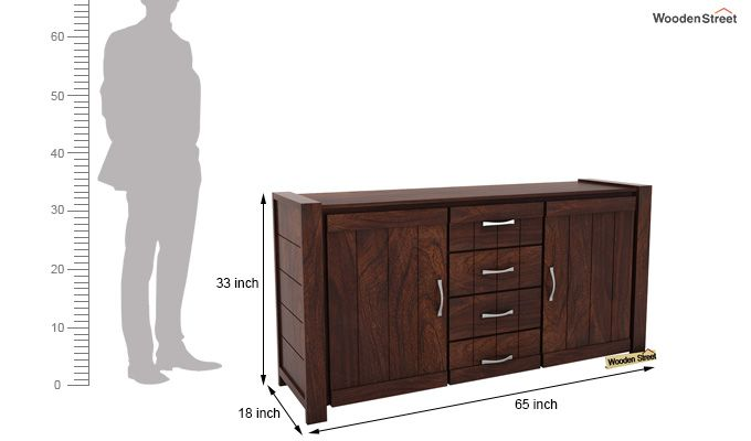 Chevalier Sideboard (Walnut Finish)-6