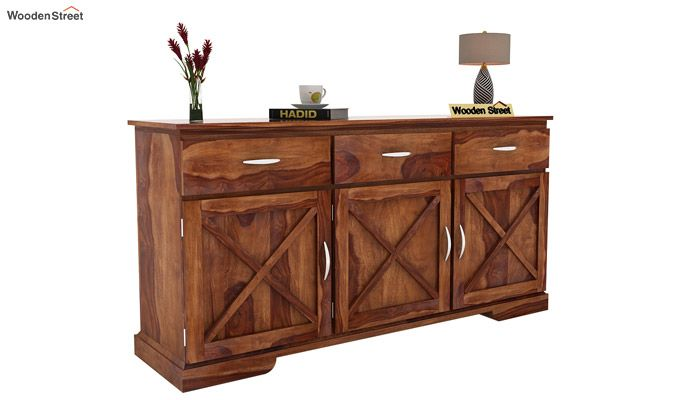 Cleopatra Sideboard (Teak Finish)-1