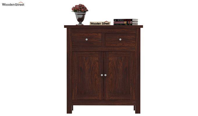 Clovis Cabinet With Drawers (Walnut Finish)-3