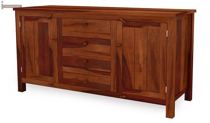 Dewey Sideboard (Honey Finish)-4