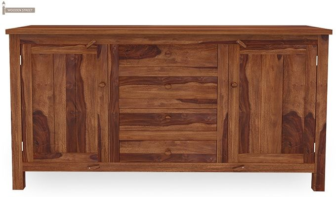 Dewey Sideboard (Teak Finish)-4