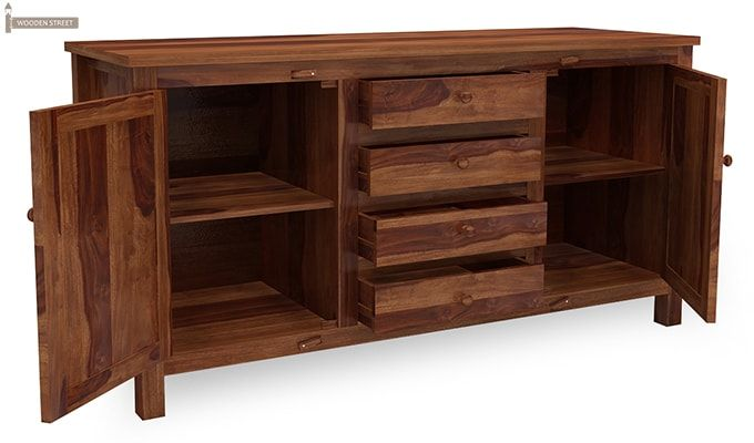 Dewey Sideboard (Teak Finish)-6