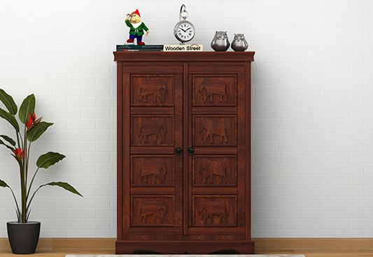 Elephant Carving Wooden Cabinets And Sideboards