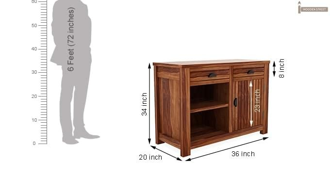 Felner Sideboard (Teak Finish )-7