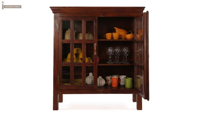 Foster Kitchen Cabinets (Mahogany Finish)-2