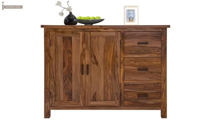 Genova Sideboard (Teak Finish)-1