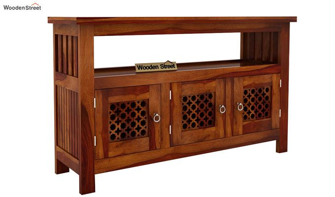 Hagborg Sideboard (Honey Finish)-2